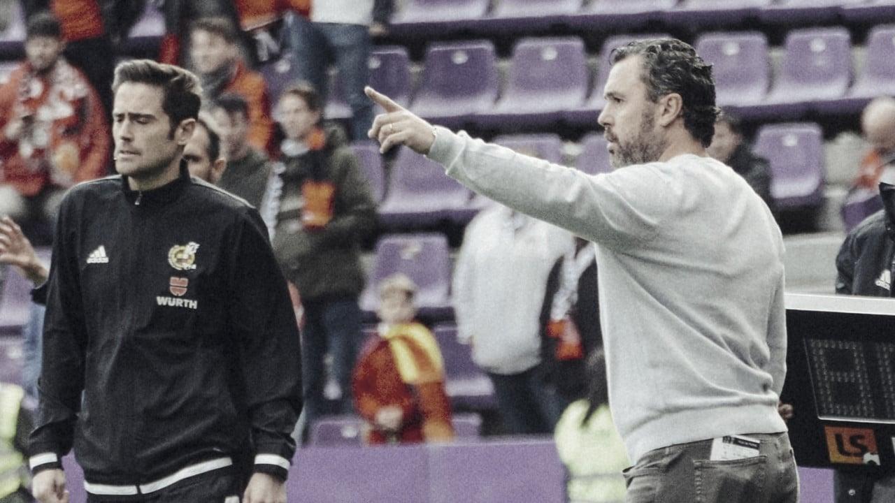 """Sergio González: """"No hemos estado a la altura de una eliminatoria de Copa"""""""