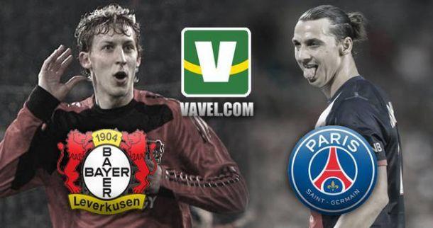 Na BayArena, Leverkusen e PSG iniciam batalha por vaga nas quartas da Champions