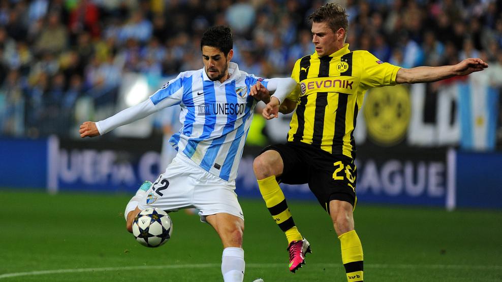 Goleiro argentino brilha e Málaga empata sem gols com o Dortmund
