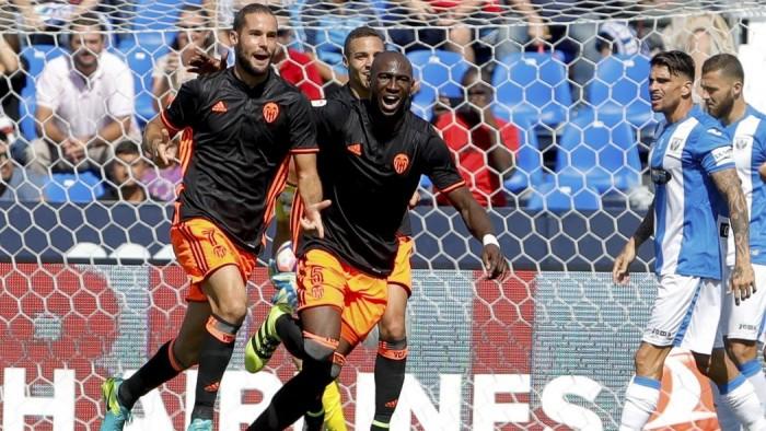 Liga: Nani e Suarez spingono il Valencia alla vittoria, Leganes battuto 1-2