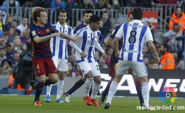 El Barcelona castiga a la Real Sociedad
