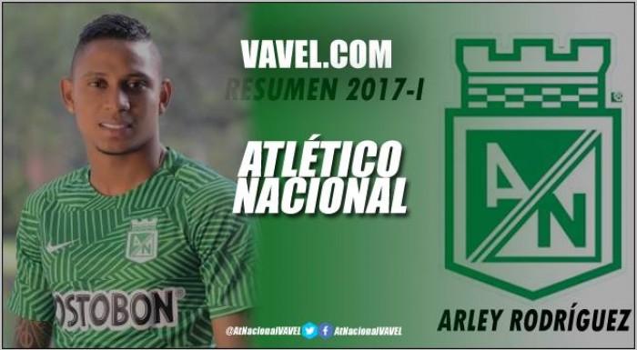 Resumen Atlético Nacional 2017-I: Arley Rodríguez, en busca de su consolidación
