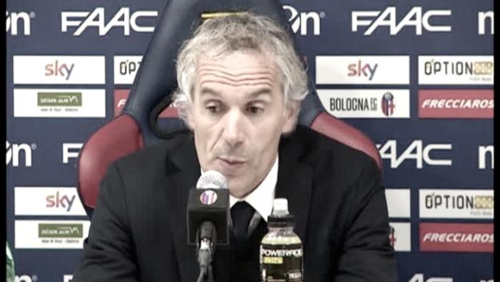 """Bologna, Donadoni in conferenza stampa: """"Troppo superficiali in occasione del gol subito"""""""