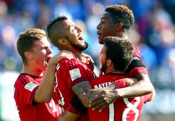 Il Bayern vince nel segno di Vidal e Coman: tris al Darmstadt