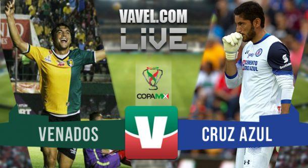 Resultado Venados - Cruz Azul en Copa MX 2015 (0-1)