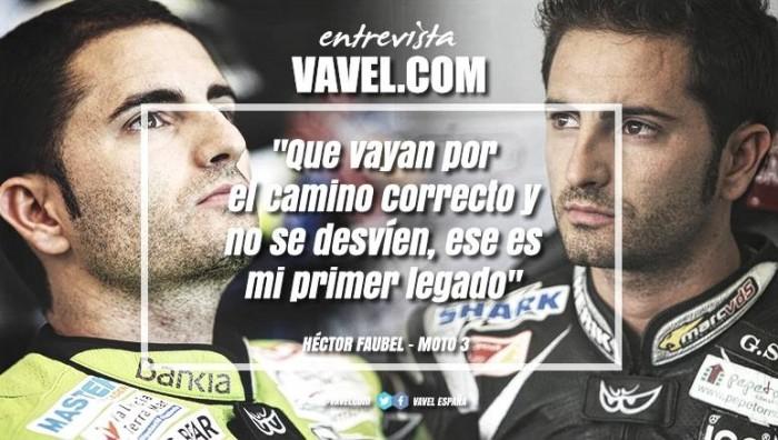 """Entrevista. HéctorFaubel:""""Que vayan por el caminoyno se desvíen, ese es mi legado"""""""