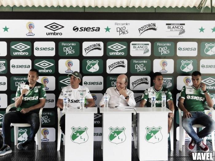 Deportivo Cali presentó a sus refuerzos