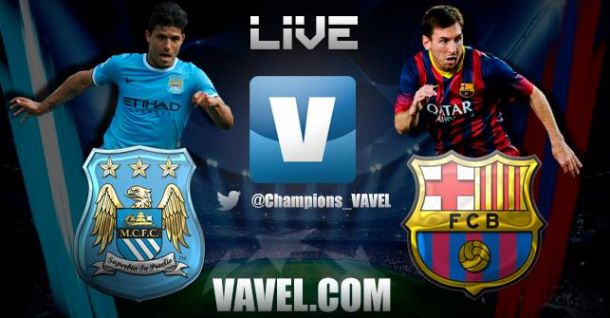 Manchester City vs Barcelona  en directo