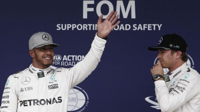Le Pirelli per Abu Dhabi. Rosberg-Hamilton uguali