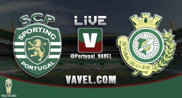 Sporting de Portugal vs Vitória Setúbal, Taça da Liga en vivo y en directo online (1-1)