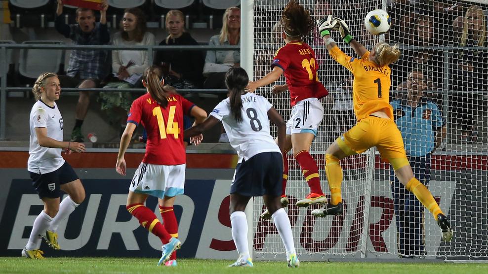 Com gol no último minuto, Espanha bate a Inglaterra pela Euro feminina