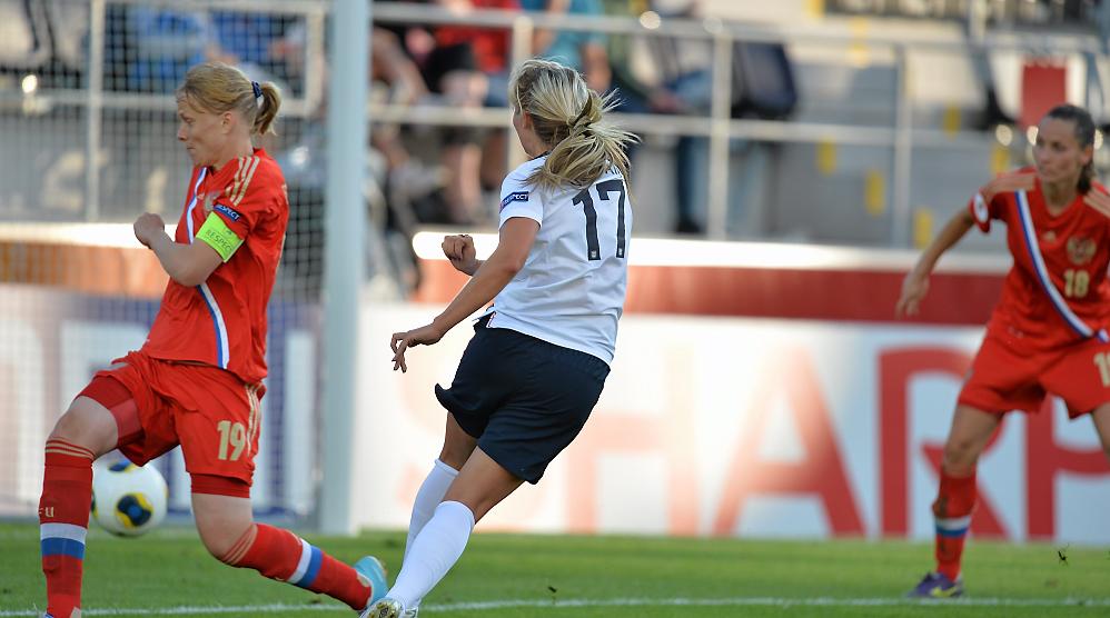 Com gol nos acréscimos, Inglaterra empata com a Rússia e segue com chances na Euro feminina