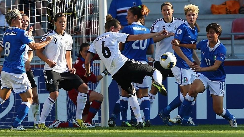 Em jogo acirrado, Alemanha bate a Itália e enfrentará a Suécia nas semis da Euro feminina