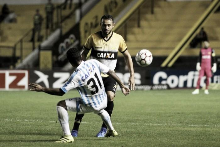 Zagueiro do Criciúma, Edson Borges mostra motivação mesmo com distância para G-4