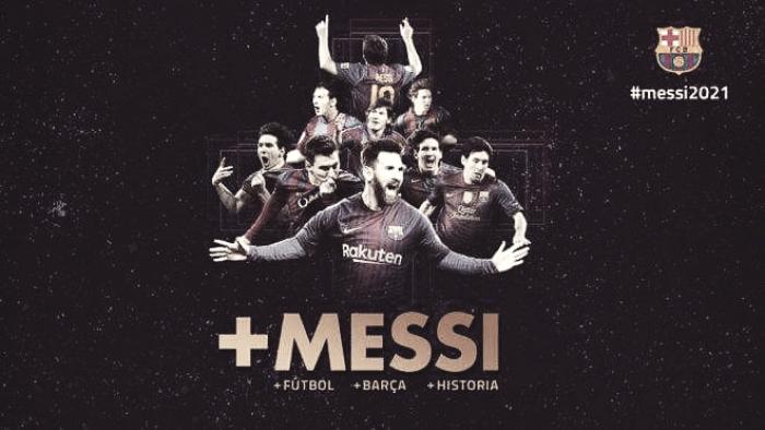 Barcellona: Messi per sempre! Ufficiale il rinnovo fino al 2021