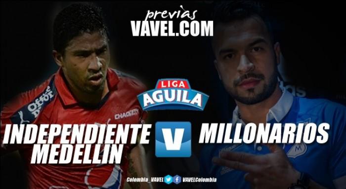 Previa Medellín vs Millonarios: el primer paso en suelo 'paisa'