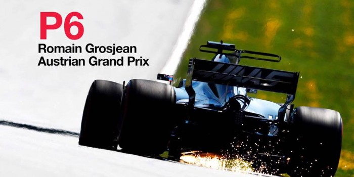 F1 - La Haas ritrova un grande Grosjean