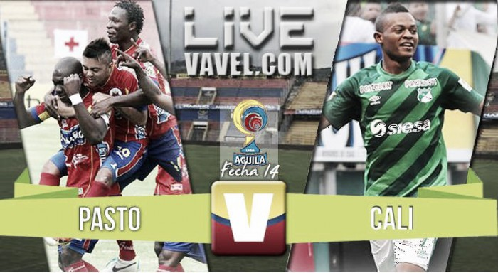 Resultado Deportivo Pasto vs Deportivo Cali en vivo online por la Liga Águila 2016 (0-1)