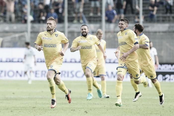 Serie B: Dionisi illude, Favilli la riacciuffa al 96'. 1-1 tra Ascoli e Frosinone