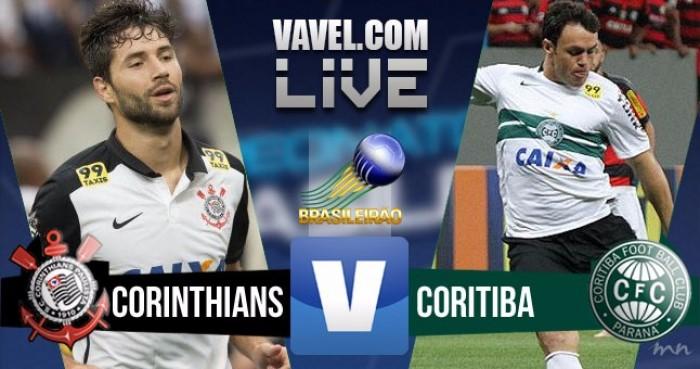 Resultado Corinthians x Coritiba pelo Campeonato Brasileiro 2016 (2-1)