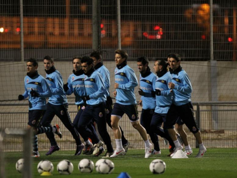 El Espanyol vuelve a los entrenamientos