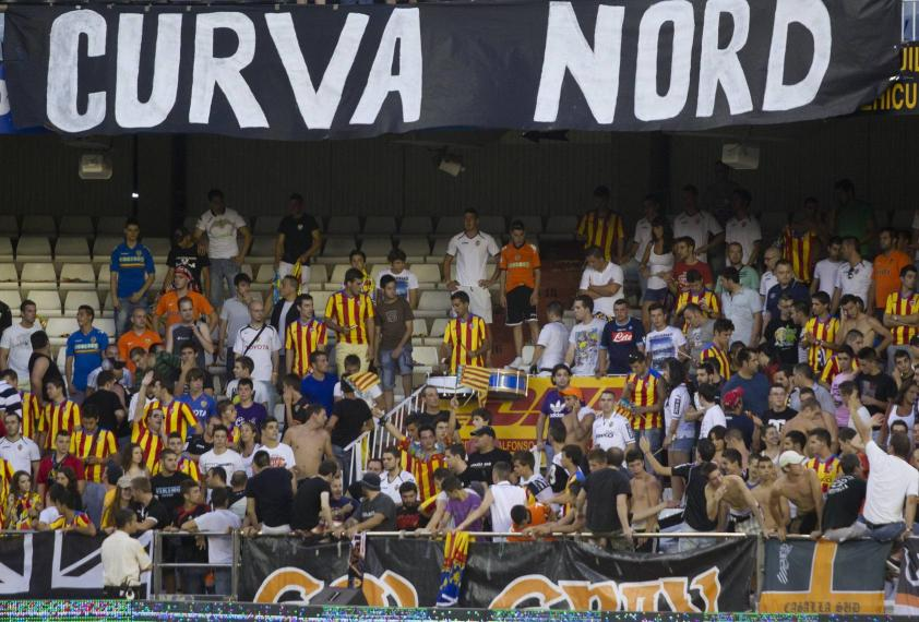 La Curva Nord ya ruge en Mestalla