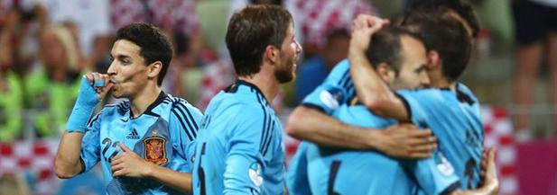 España pasa a cuartos ante 14.265.000 espectadores