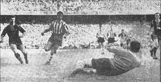 Serial Finales de Copa Barcelona - Athletic: 1952/53 duelo entre dos delanteras históricas