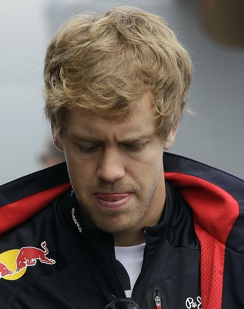 "Sebastian Vettel: ""No sabía donde estaba Button así que me fui por fuera"""