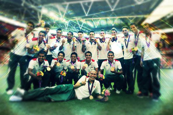 ¡México campeón olímpico!