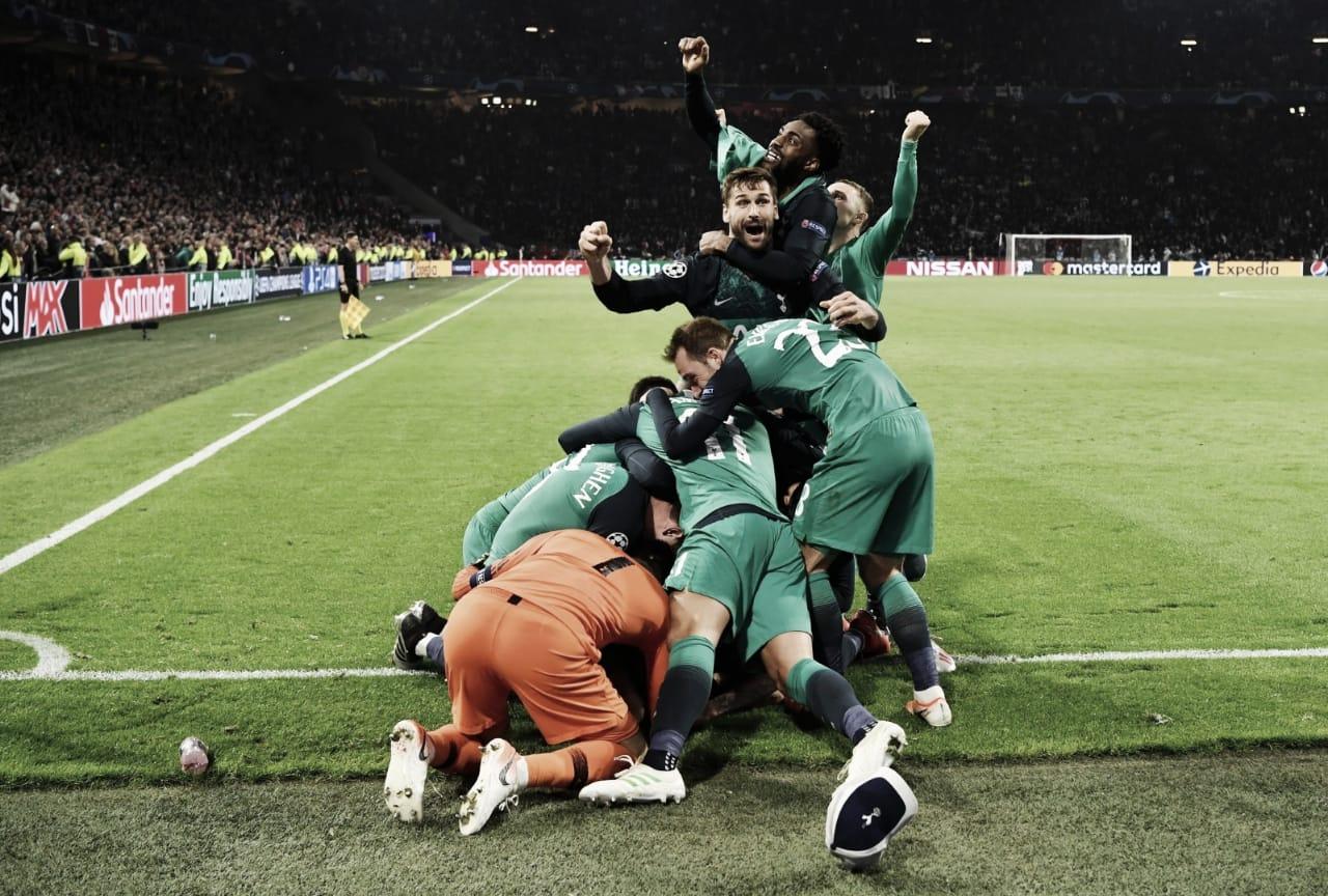Lucas faz três gols, Tottenham vira contra Ajax e chega à final da Champions pela primeira vez