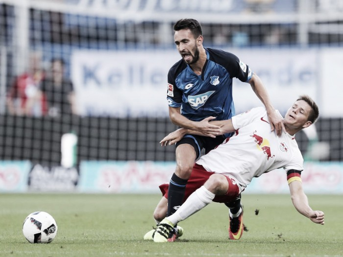 RB Leipzig punktet erstmals