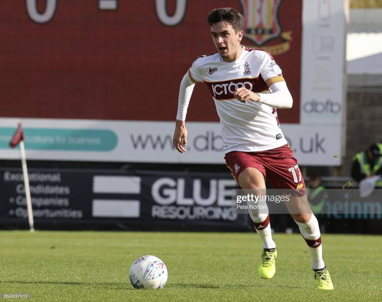 Alex Gilliead returns to Bradford City