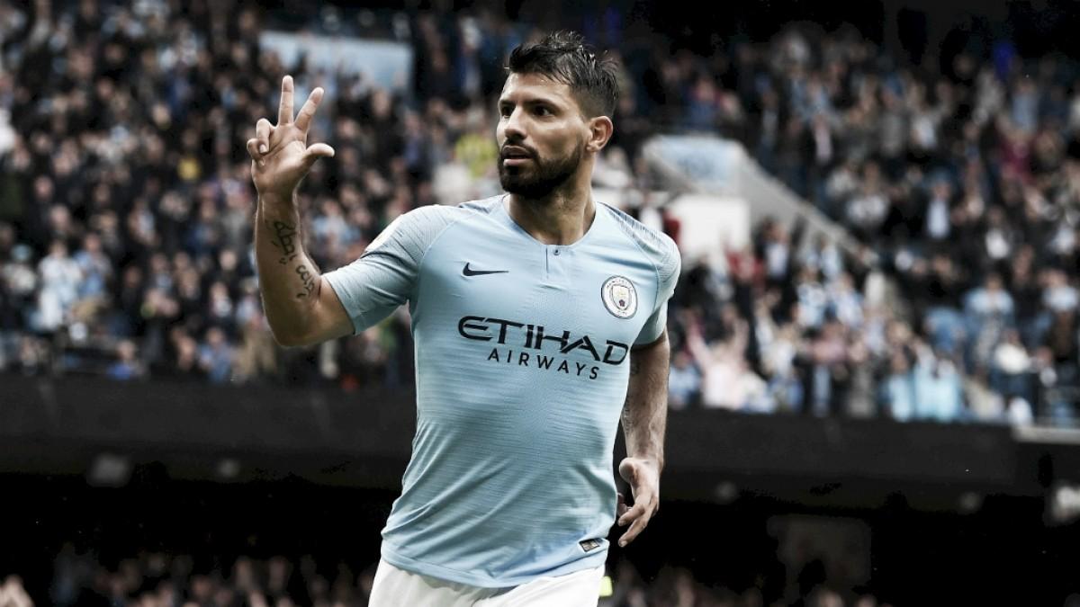 Ídolo do Manchester City, Agüero entra na lista dos 10 maiores artilheiros da Premier League
