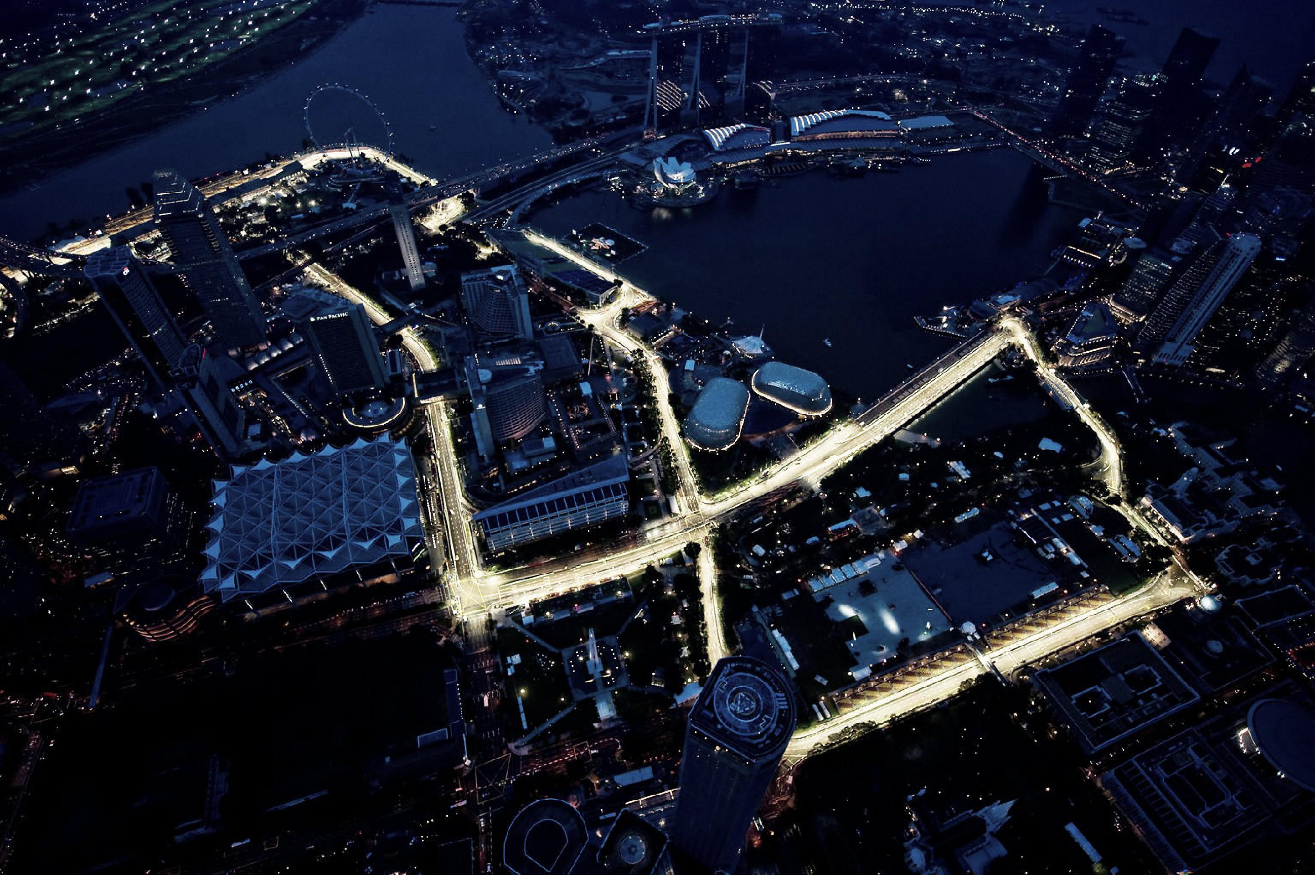 Circuito Callejero De Marina Bay : Resumen clasificación gp de singapur fórmula