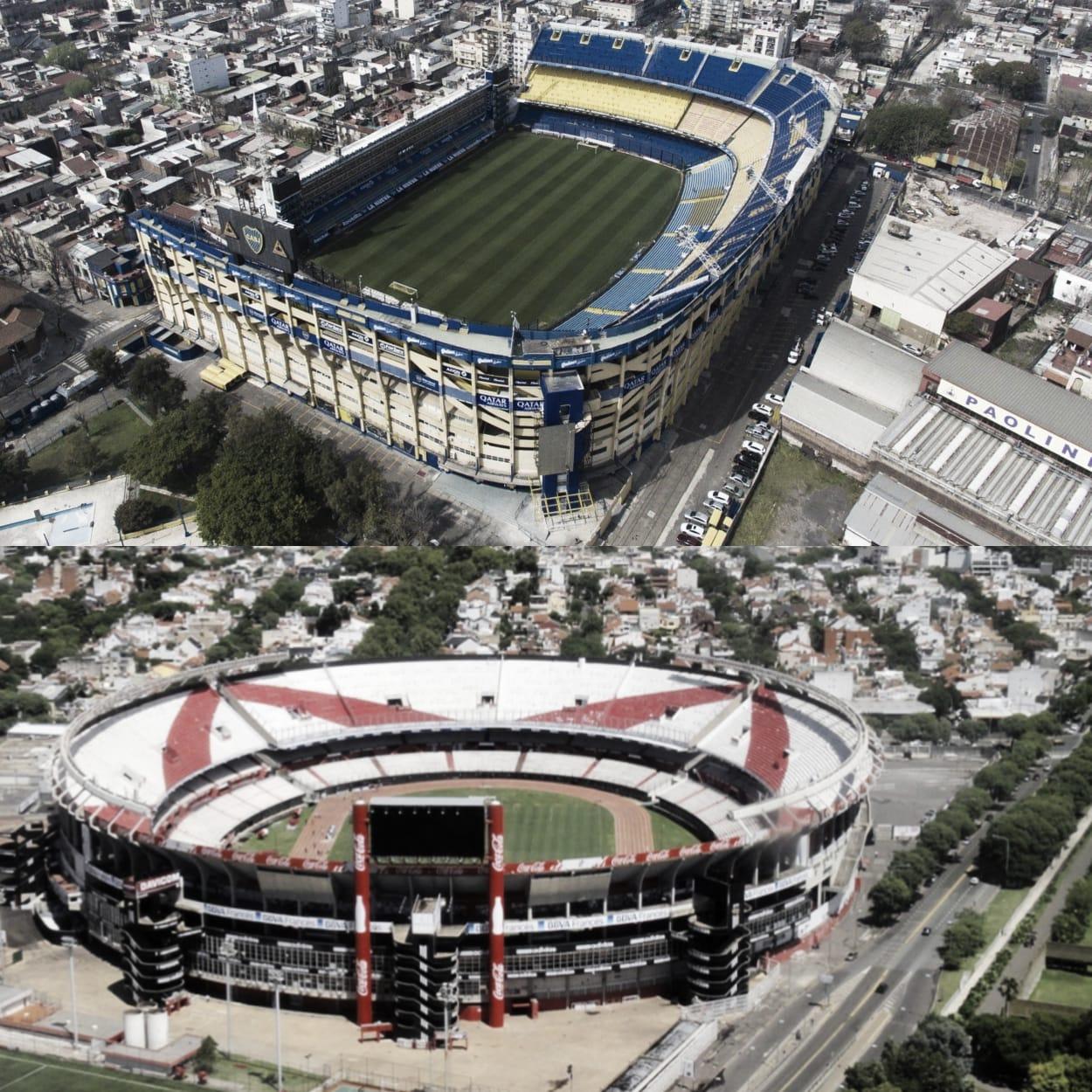Boca y River, ¿un mismo estadio?