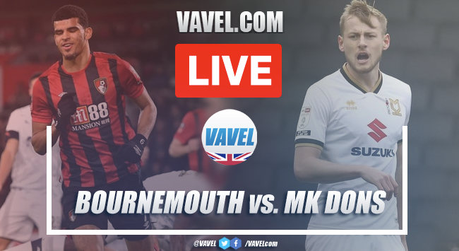 As it happened: AFC Bournemouth 5-0 MK Dons in the Carabao Cup