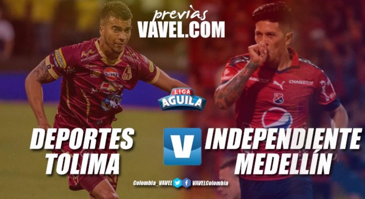 Previa Tolima vs Medellín: La balanza se inclina al visitante