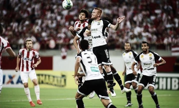 Resultado e gols de Ceará x Náutico pela Copa do Nordeste 2019 (0-2)