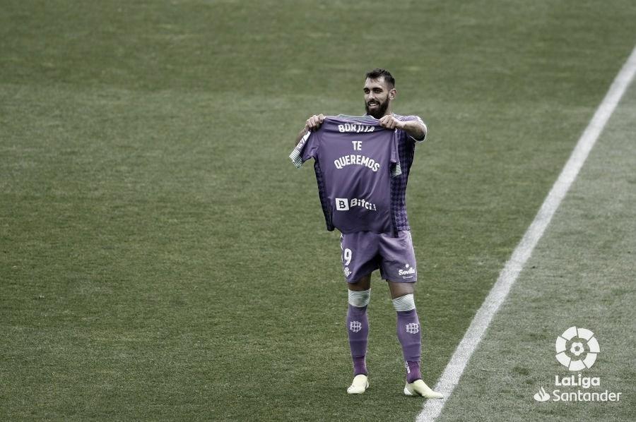 """""""El golpe"""" de Borja Iglesias"""