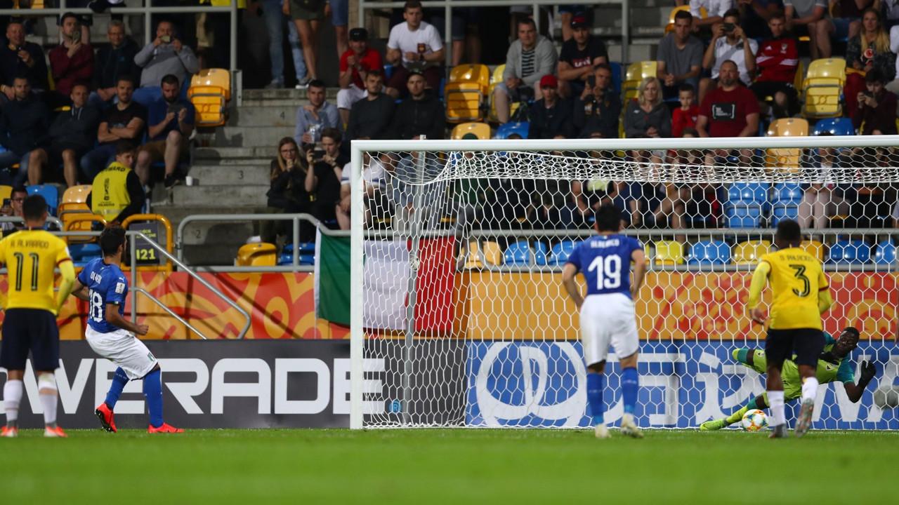 Mondiale U20 - Olivieri sbaglia dal dischetto, l'Ecuador è di bronzo: gli Azzurrini perdono 0-1 la finale 3°/4° posto
