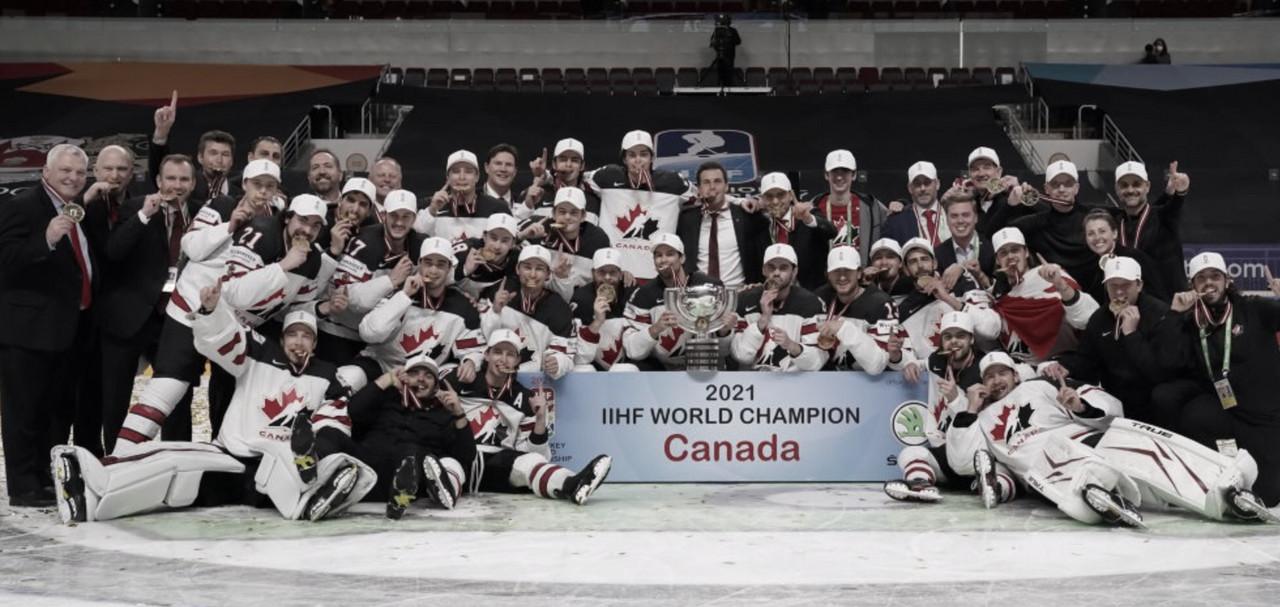Canadá gana de forma sorprendente el Campeonato Mundial 2021