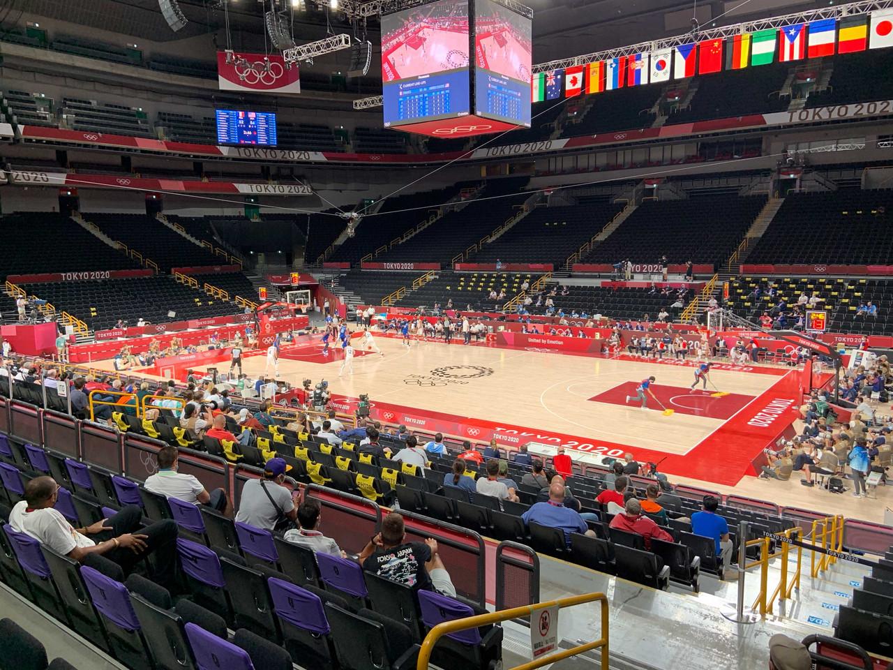 2020 Tokyo: Men's basketball Day 1 wraup
