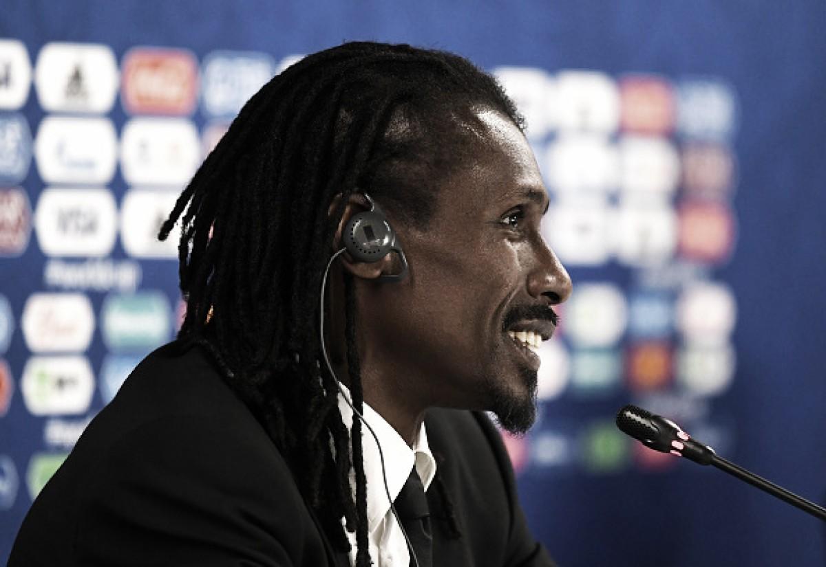 """Aliou Cissé critica postura de Senegal e enaltece adversário após empate: """"Melhor time foi o Japão"""""""