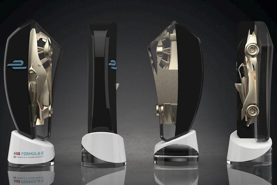 Imagens do troféu dos vencedores do Desafio Virtual da Fórmula E são divulgadas
