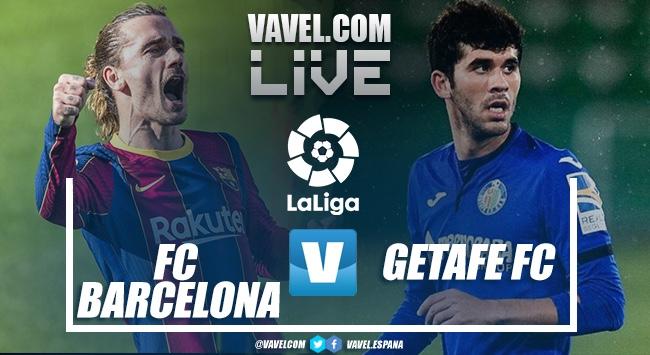 Resumen Barcelona vs Getafe (5-2) en LaLiga