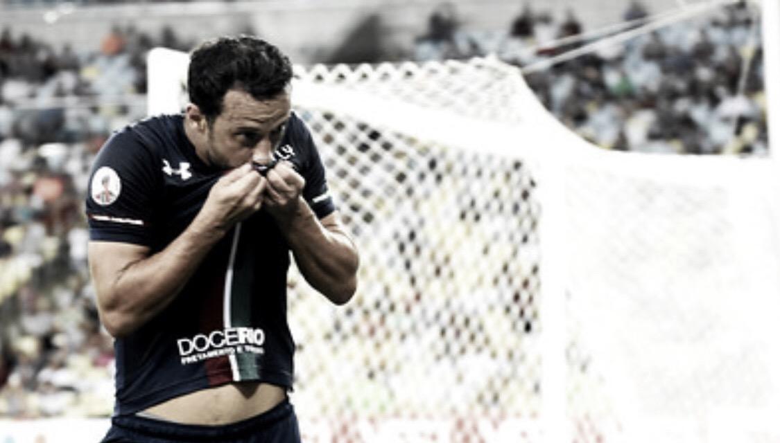 Fluminense joga bem e goleia Resende no Maracanã