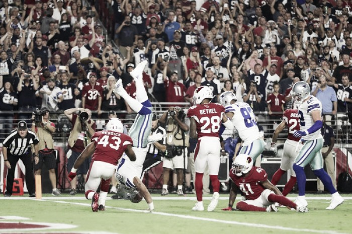 Dallas Cowboys overcome another rough start to get the victory against Arizona Cardinals on Monday Night Football