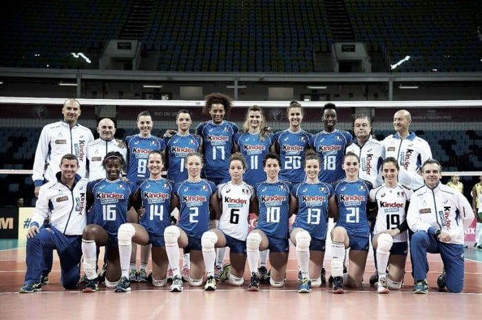 Rumo à Olimpíada: seleção feminina de vôlei da Itália