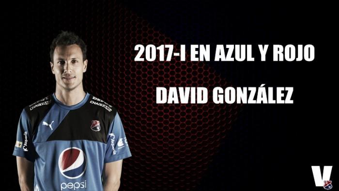 2017-I en azul y rojo: David González
